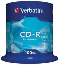 CD-R VERBATIM 43411 700MB 52X EXTRA PROTECTION SURFACE