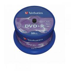 DVD R VERBATIM 43550 AZO 4.7GB 16X MATT SILVER SURFACE
