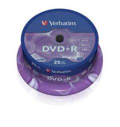 DVD R VERBATIM 43500 AZO 4.7GB 16X MATT SILVER SURFACE
