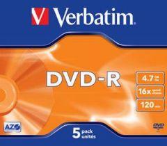 DVD-R VERBATIM 43519 AZO 4.7GB 16X MATT SILVER SURFACE