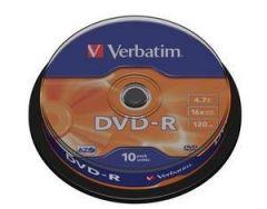 DVD-R VERBATIM 43523 AZO 4.7GB 16X MATT SILVER SURFACE
