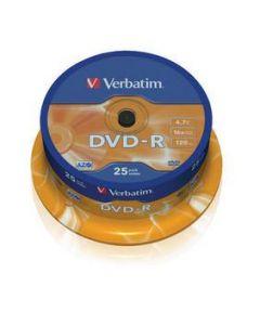 DVD-R VERBATIM 43522 AZO 4.7GB 16X MATT SILVER SURFACE