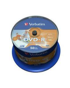 DVD-R VERBATIM 43533 AZO 4.7GB 16X WIDE PRINT. SURFACE NON-ID