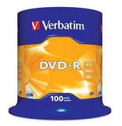 DVD-R VERBATIM 43549  AZO 4.7GB 16X MATT SILVER SURFACE